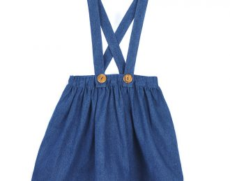 Denim skirt for girls