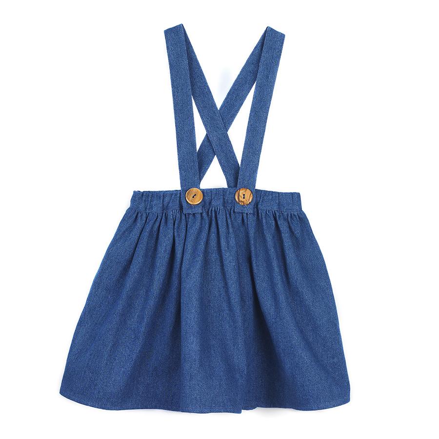 Http Www Milouandpilou Com Tienda Denim Skirt For Girls