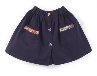 Jo buttoned skirt