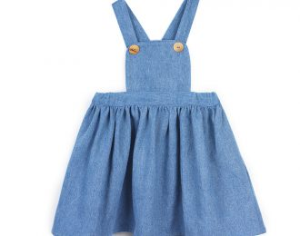 Light Denim Pinafore dress