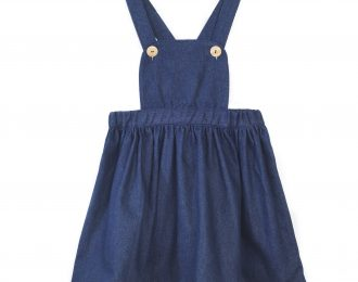 Dark Denim Pinafore dress