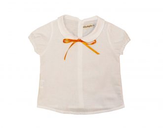 Apricot Tie Shirt