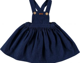 Dark Denim Pinafore