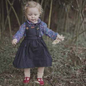Floral shirt for girls
